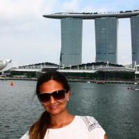 Cingapura: o Merlion e a Waterfront Promenade