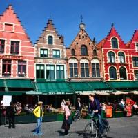 Brugge, uma cidade de conto de fadas!