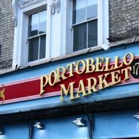 De volta a Notthing Hill e ao Portobello Market…