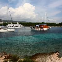 Croácia: as lindíssimas praias de Hvar e no caminho, Stari Grad