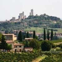 San Gimignano, primeira parada na Toscana!