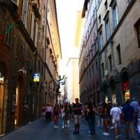 Toscana: um fim de tarde em Siena