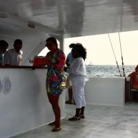 Aruba: assistindo ao pôr do sol em alto mar (com jantarzinho no final)!